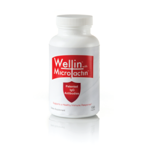 one bottle of wellin supplement